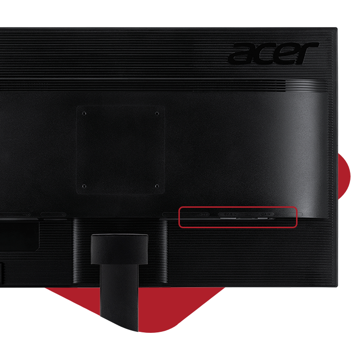 Acer Monitor KG271_P Ports
