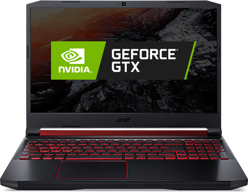 Notebook Acer Aspire Nitro 5 com logo Nvidia® GeForce® GTX