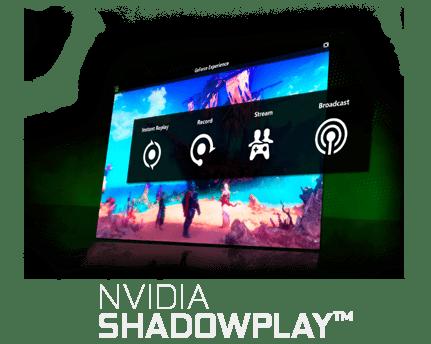 Ícone Nvidia® Shadowplay™