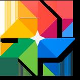 Logo Google Fotos Acer Chromebook