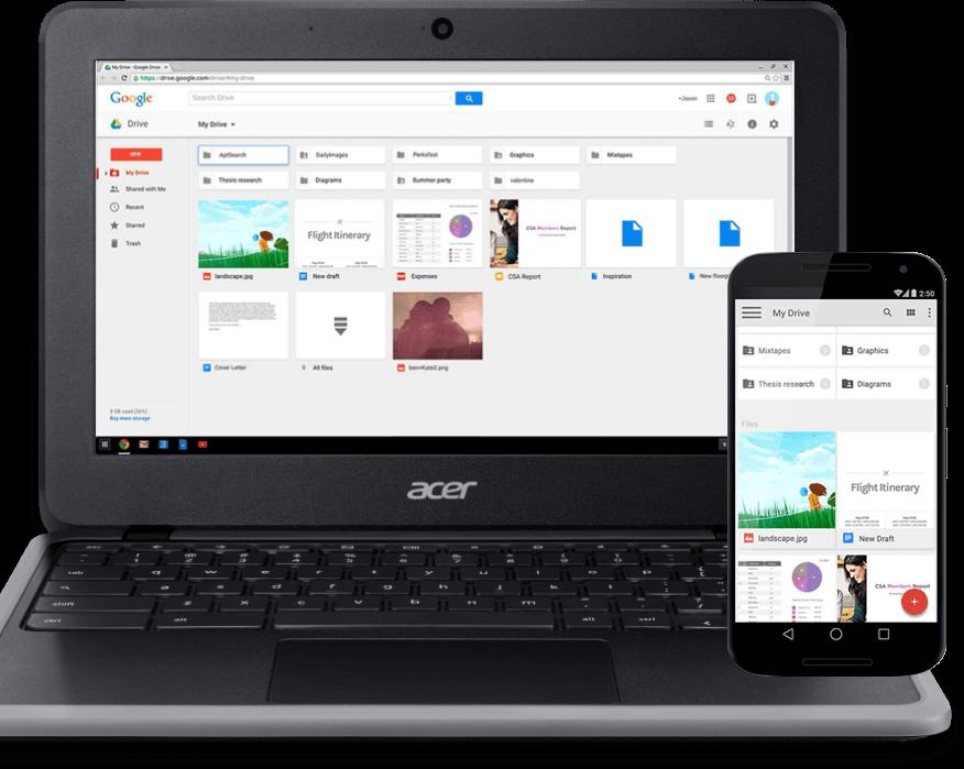 Acer Chromebook C733-C607 com sincronização