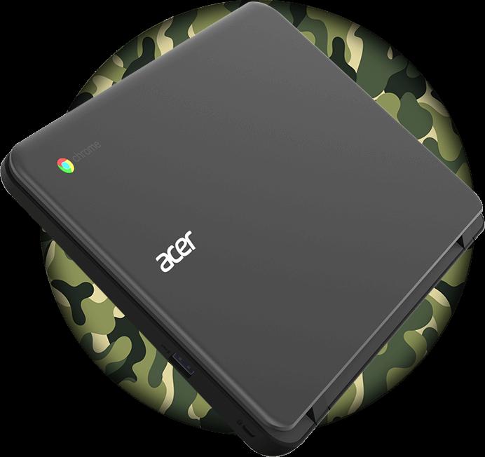 Material militar do Acer Chromebook C733T-C2HY
